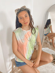 T-shirt ROXANE - tie and dye