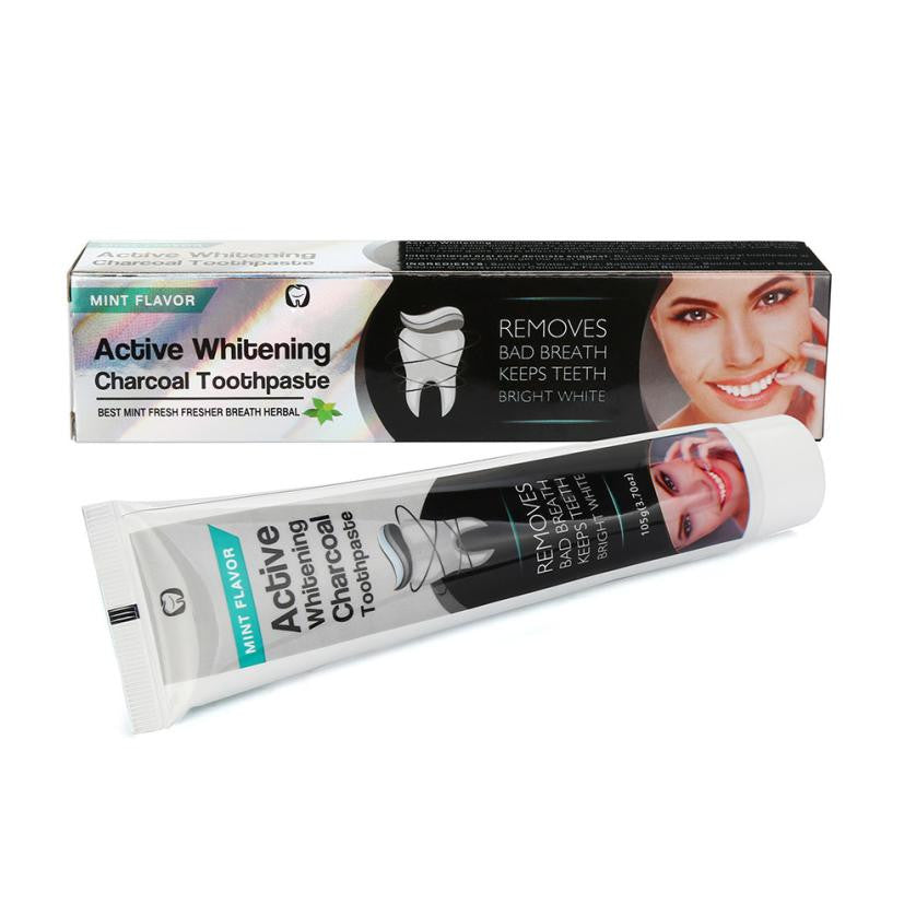 Oral Whitening Nature Activated Charcoal Powder Toothpaste