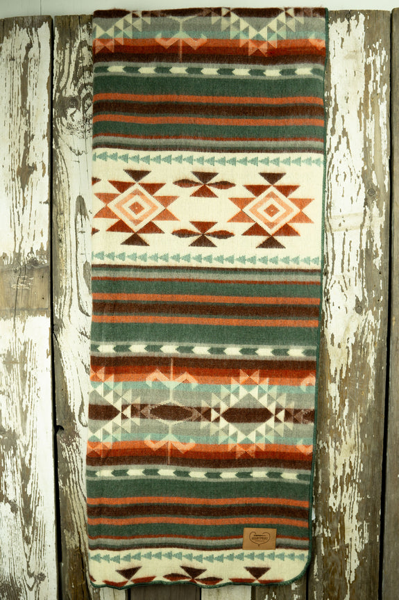 Aztec Double Blanket - Peachy Keen