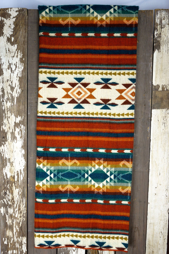 Noninventory - AZTEC Double Blanket - Fire At Night
