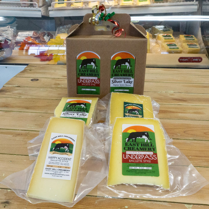 East Hill Creamery 4 Cheese Gift Box