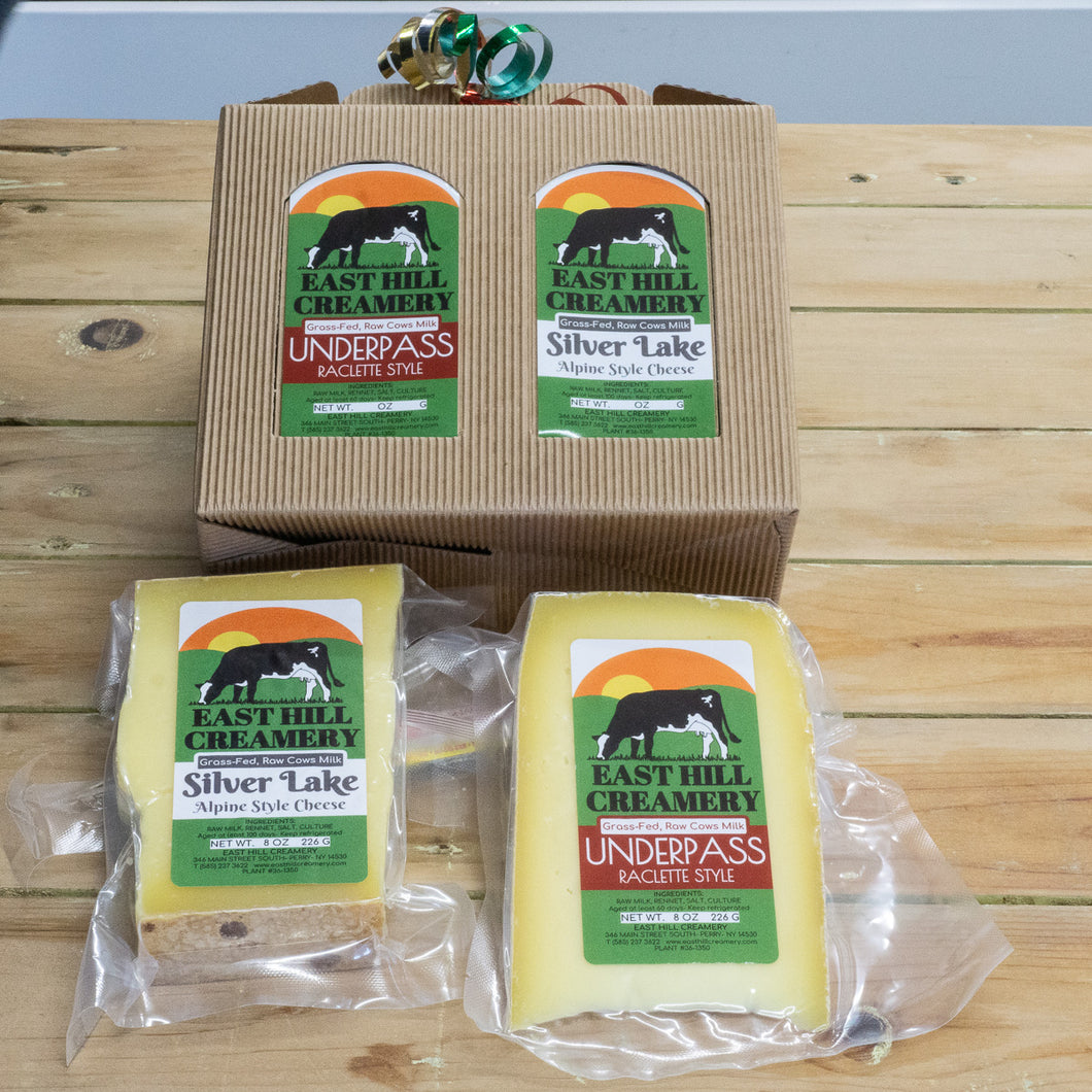 East Hill Creamery 2 Cheese Gift Box