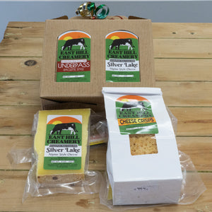 East Hill Creamery 1 Cheese 1 Cheese Crisp Gift Box
