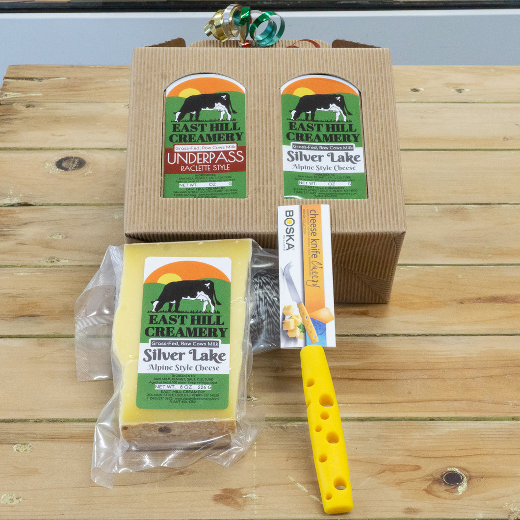 East Hill Creamery 1 Cheese 1 Cheese Knife Gift Box