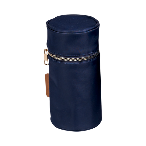 Mani Navy Blue Bottle Holder