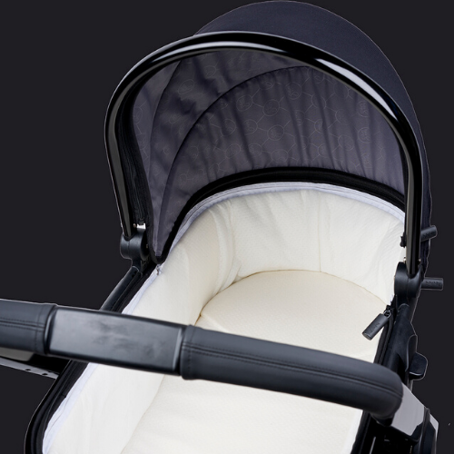 MULTI-POSITION RECLINING AND REVERSIBLE PUSHCHAIR SEAT