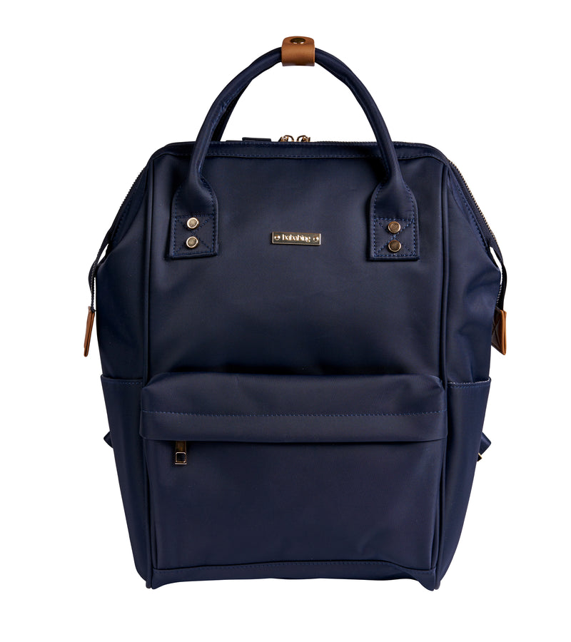 Mani Backpack Changing Bag - Navy Blue (6057782411414)