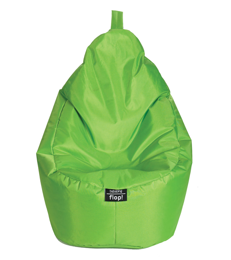 bb41-001-bababing-flop-beanbag-lime-front-view