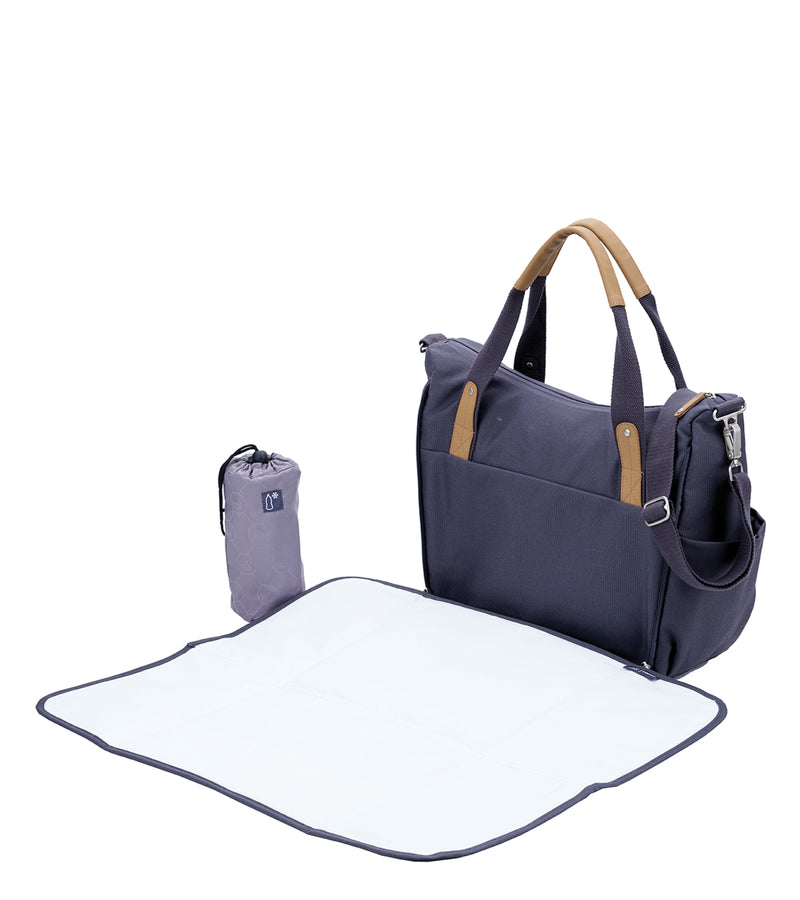 Roma Changing Bag -  Panama Grey