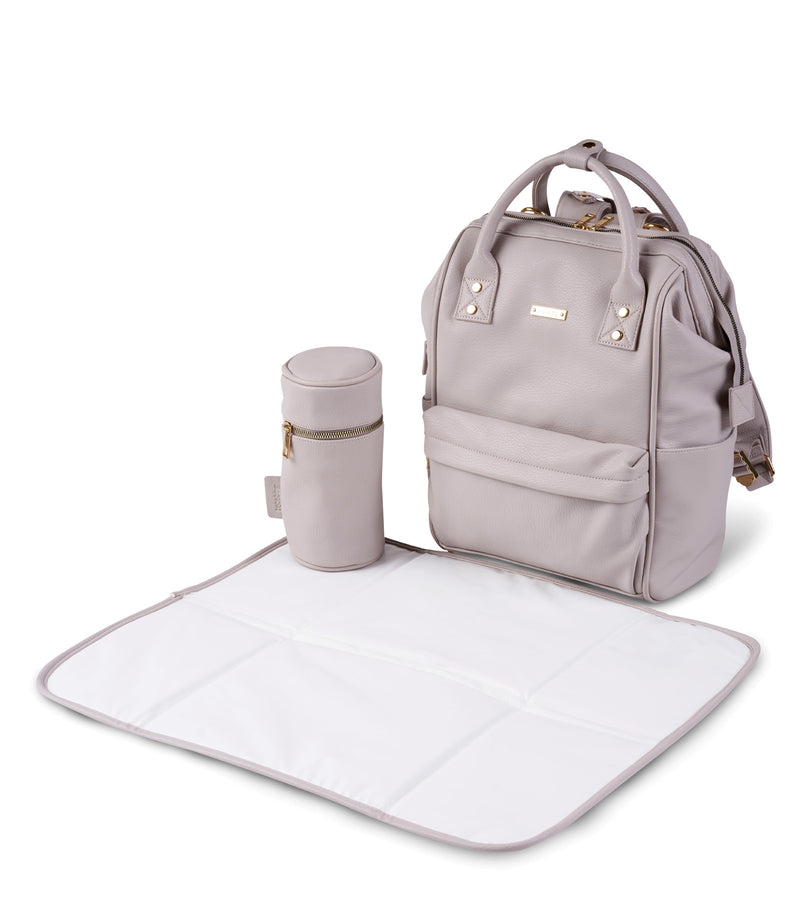 bb71-001-bababing-mani-backpack-blush-grey-changing-mat-image