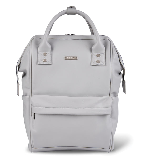 bb85-001-bababing-mani-backpack-dove-grey-front-image
