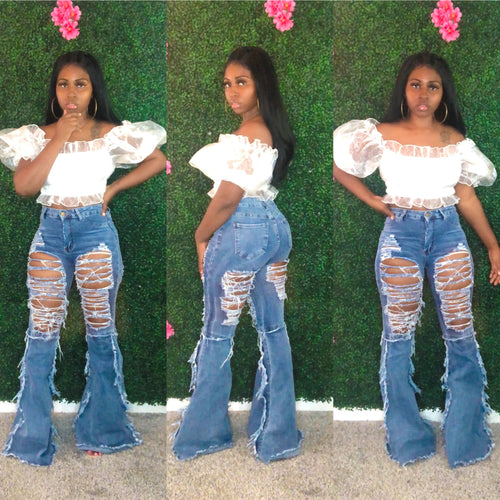 Bad Girl Flare Jeans