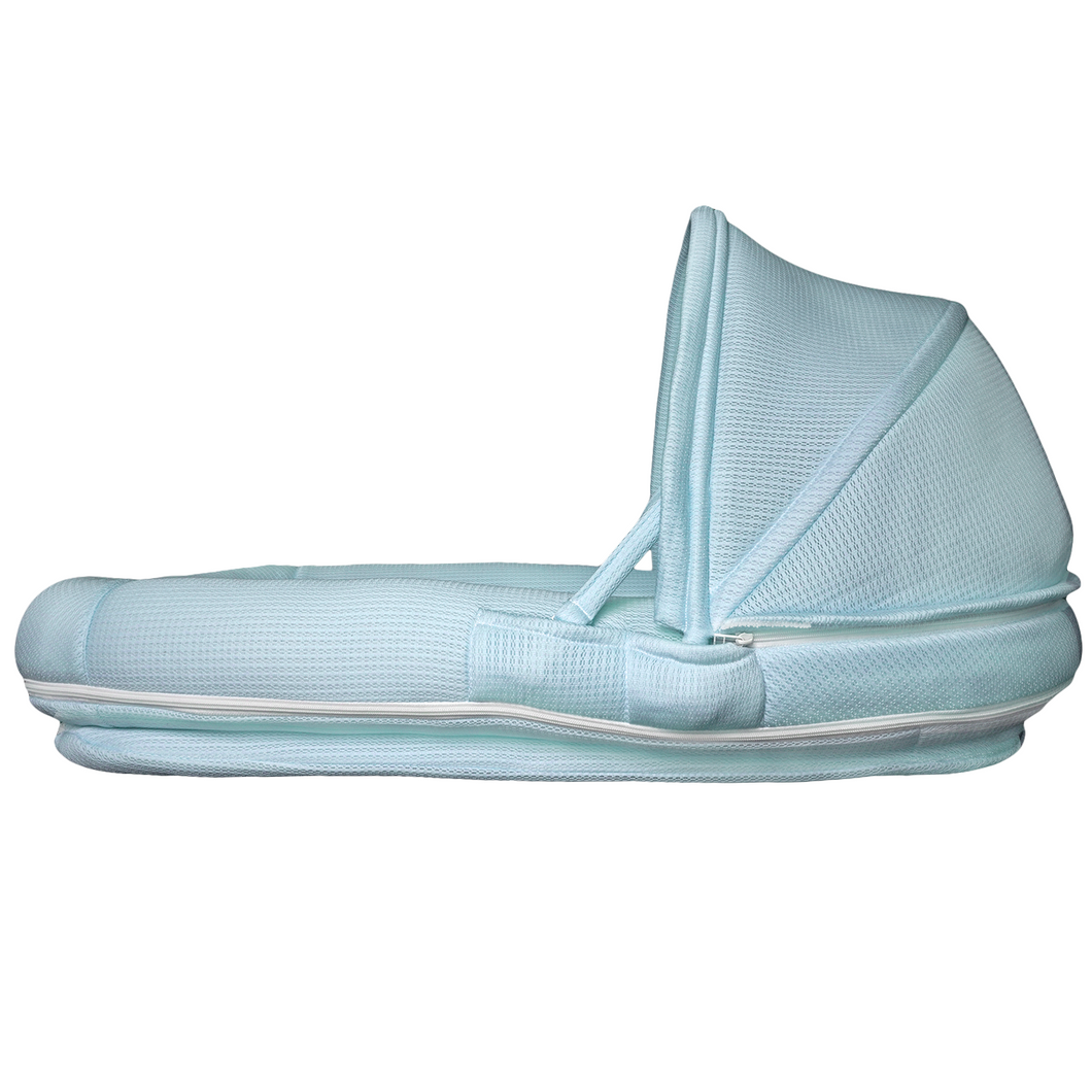 CubbyCove Newborn baby lounger and in bed co sleeper, highly breathable 3D mesh fabric better than dock a tot