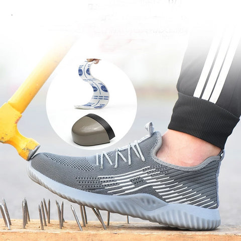 Breathable And Comfortable Mesh Light Walking Men's Sports Shoes