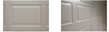 Load image into Gallery viewer, Residential Sectional 4 panel Door 1920-2180mm high,  complete with an ATA GDO9 Dynamo Opener