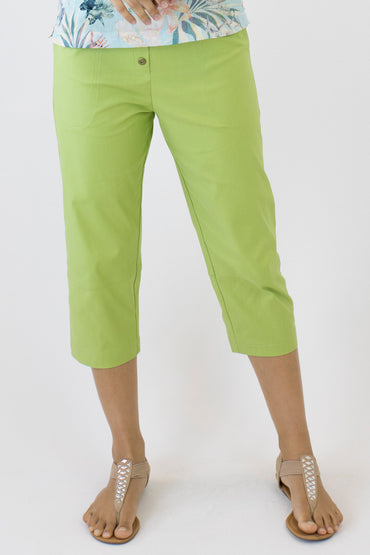 7/8 PANTS-Apple Green-B-01