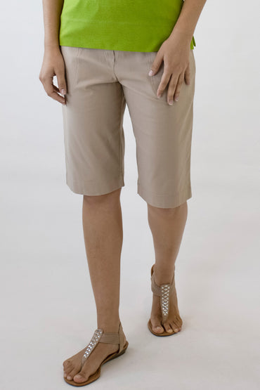 SHORTS BEDARRA -Latte- B-02