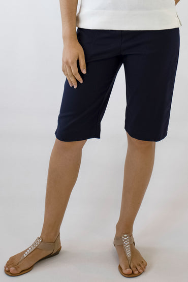 SHORTS BEDARRA -Navy- B-02