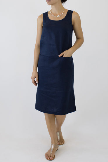 COLUMN DRESS ML-06