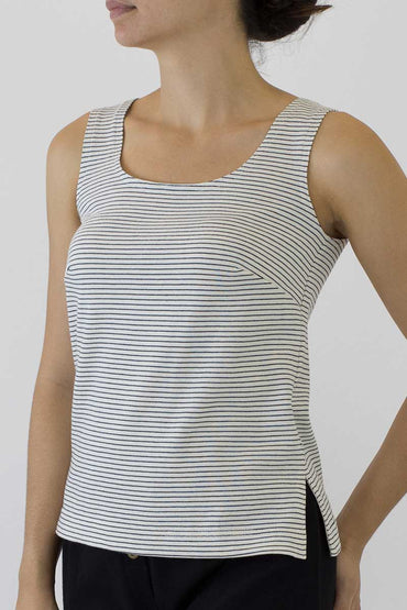 PS-01 STRIPE SINGLET