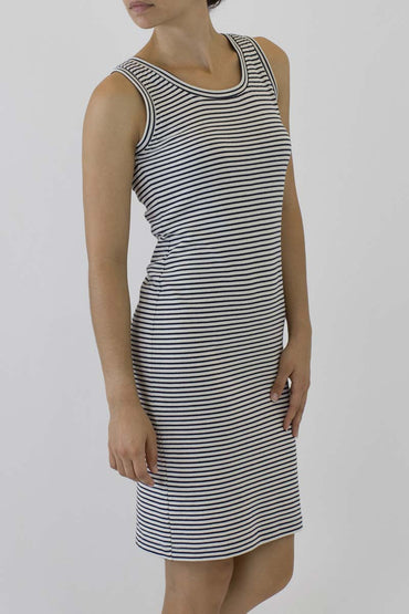 STRIPE SINGLET DRESS PS-02