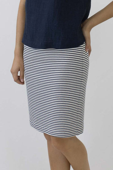 STRIPE SHORT SKIRT PS-03