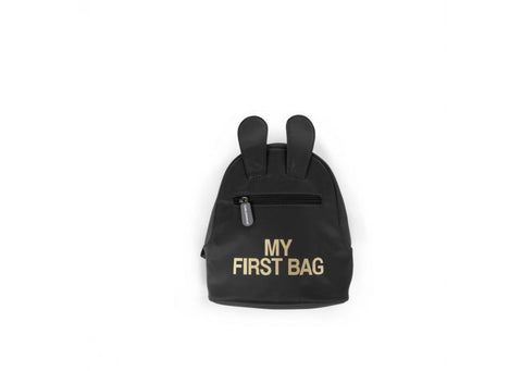"SAC A DOS ""MY FIRST BAG"" NOIR"
