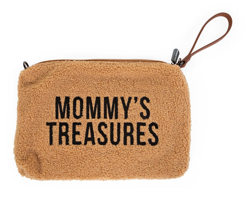 Mommy's Treasures Clutch - Teddy brun