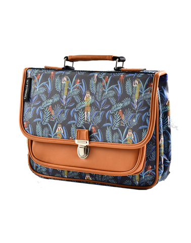 Petit Cartable vintage Jungle de CARAMEL & Cie