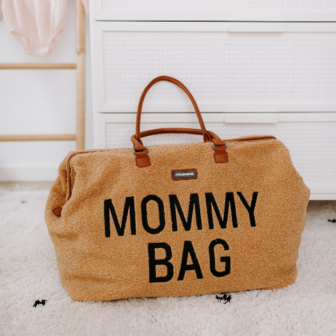 MOMMY BAG sac à langer - Teddy brun