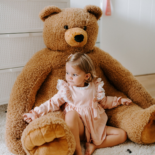 Peluche Ours assis - 100x85x100 Cm - Teddy Bear Childhome