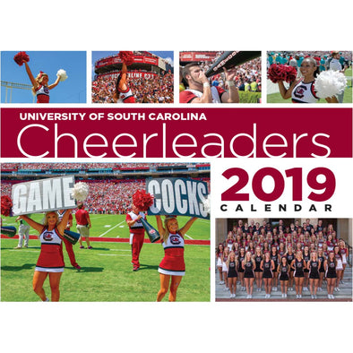 2019 Gamecock Cheerleaders Calendar