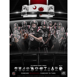 2019 South Carolina Football Poster Pack