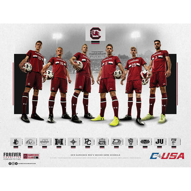 2019 South Carolina Men's Soccer Poster