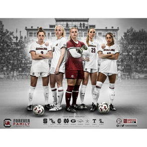 2019 South Carolina Women's Soccer Poster