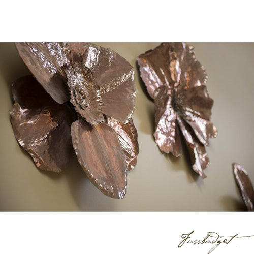 Copper Wall Sculpture-Fussbudget.com