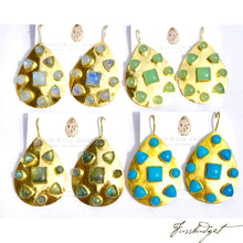 Load image into Gallery viewer, Christiana Semiprecious Boho Earrings