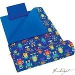 Load image into Gallery viewer, Olive Kids Robots Sleeping Bag-Fussbudget.com