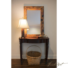 Load image into Gallery viewer, Copper Rectangular Patchwork Mirror-Fussbudget.com