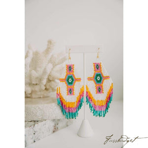 Beaded Statement Tassels