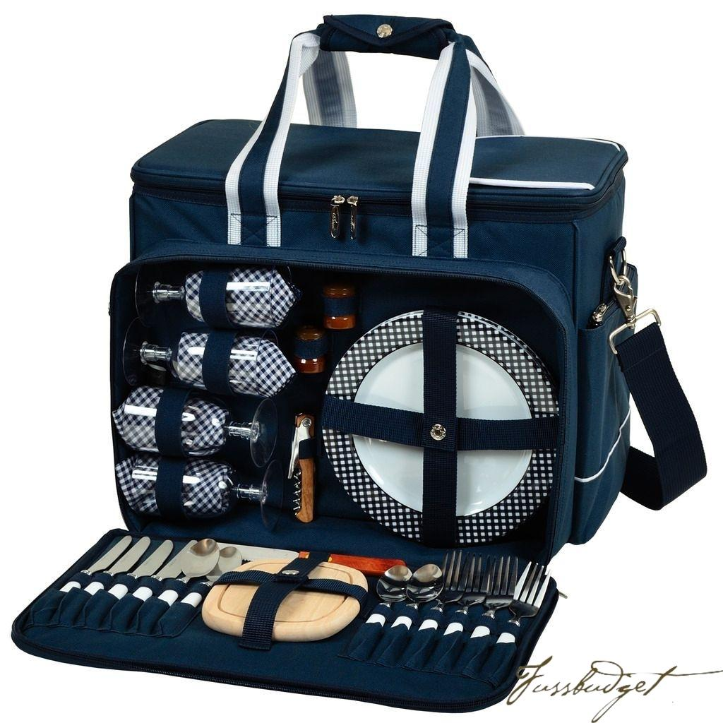 Ultimate Picnic Cooler for 4 - Bold Navy
