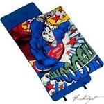 Load image into Gallery viewer, Superman Woosh Nap Mat-Fussbudget.com
