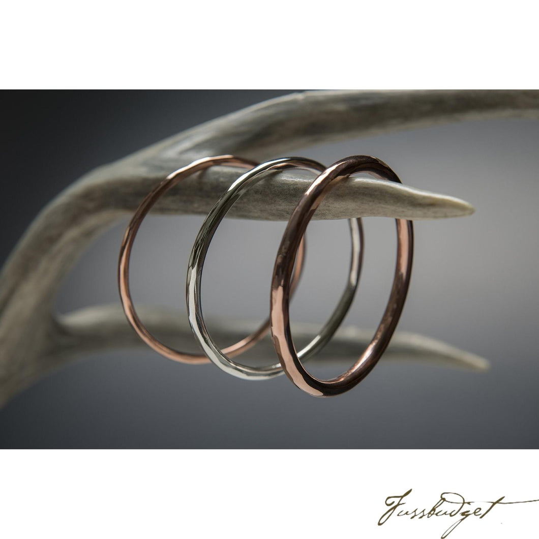 Sterling Silver Bangle Bracelet-Fussbudget.com