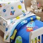 Load image into Gallery viewer, Olive Kids Out of this World Toddler Comforter-Fussbudget.com