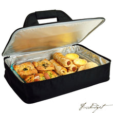 Load image into Gallery viewer, Insulated Casserole Carrier -Black