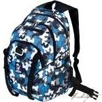 Load image into Gallery viewer, Blue Camo Serious Backpack-Fussbudget.com