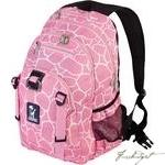 Load image into Gallery viewer, Pink Giraffe Serious Backpack-Fussbudget.com