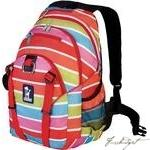 Load image into Gallery viewer, Bright Stripes Serious Backpack-Fussbudget.com