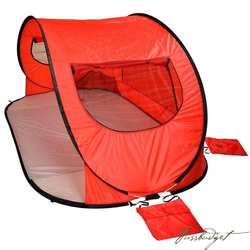 Extra Large Instant Beach Shelter - Red