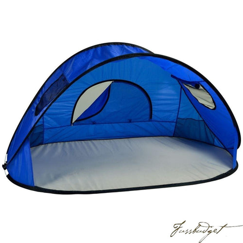 Family Size Instant Beach Shelter - Royal Blue